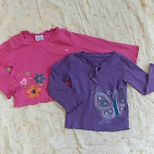 Other - Flowers and Butterfly Shirt Bundle
